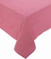 VICHY Ubrus 150x210cm - červená