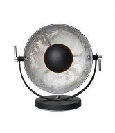 SATELLIGHT Stolní lampa 38 cm - stříbrná/černá