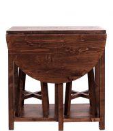 CHAIRLOCK Stůl se 2 stoličkami