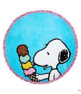 PEANUTS Osuška kulatá Snoopy