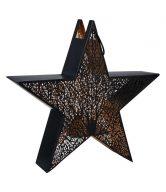 LUMINOUS Hvězda s držákem na čajovou svíčku 45 cm