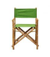 BOLLYWOOD Režisérská židle - zelená