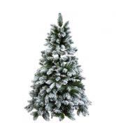 TREE OF THE MONTH Smrk zasněžený 210 cm - zelená