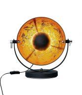 SATELLIGHT Stolní lampa 38 cm - černá/zlatá