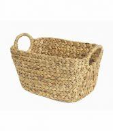 Compactor Ručně pletený úložný košík z vodního hyacintu Compactor Caracas L