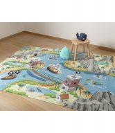 Vopi Dětský koberec Ultra Soft Tresure Island