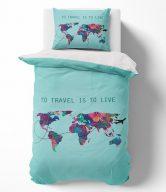 Towee Bavlněné povlečení Travel the World