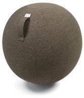 Hnědý sedací / gymnastický míč VLUV STOV Ø 75 - tip